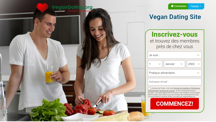 Vegan Datiing Site